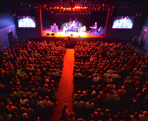 "The complete Audio Visual package came to life at the premier event where ""Creedence Clearwater Revisited"" performed to a near sold-out house."