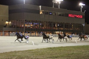 Hollywood Dayton Harness Racing with Community R.5HPT Loudspeakers - Courtesy Conrad Photo