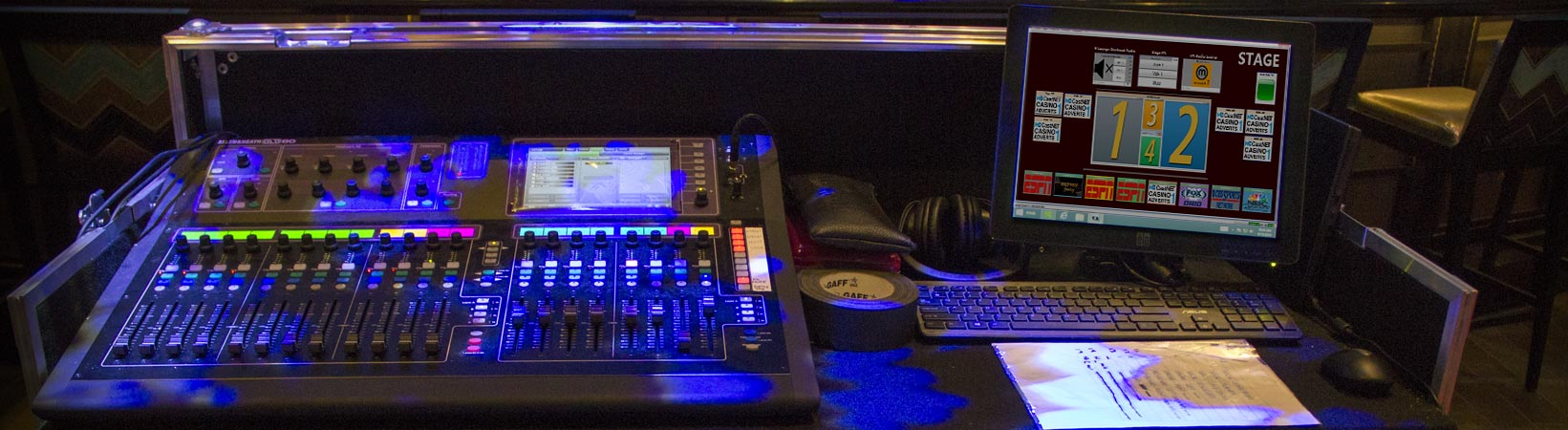 Mahoning Valley Stage AV Control